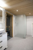 Kellarin kylpyosasto - Källarens badavdelning