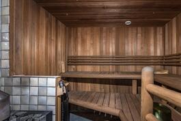 Puulämmitteinen sauna