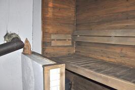 Talossa oleva sauna