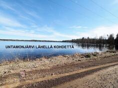 Untamonjärvi lähellä