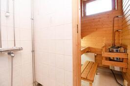 sauna/kylpyhuone