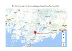Nordcenterin sijainti Googlessa