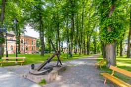Loviisan kaupungin puistoa