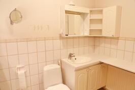 talosta löytyy kaksi erillistä wc:tä