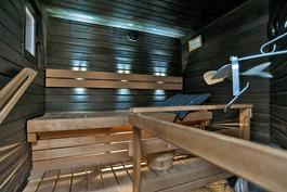 Sauna remontoitu v. 2012