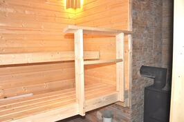 Kokonaan uusittu sauna