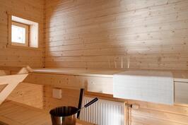 Sauna (kuva A-talosta)