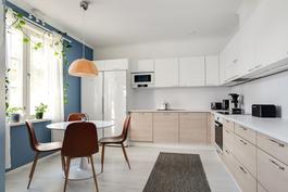 Koko asunto remontoitu 2016/ Hela lägenheten renoverad 2016
