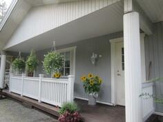 Talon ulkovuoraus maalattu v. -11 ja ilmastointikanavat puhdistettu!