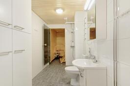 Toimiva kylpyhuone - Funktionellt badrum
