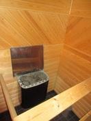 ... on näyttävästi sommiteltu ja saunassa on hyvä sähkökiuas!