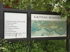 ... Kauttuan Ruukinpuistossa (n.1km) on myös hyvät palvelut mm. ravintola ja kahvila!