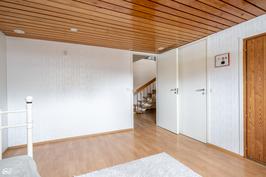 Saunan pukuhuone/TV-huone
