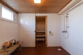 Taloyhtiön saunaosastolta
