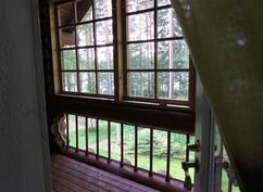Yläkerran veranta