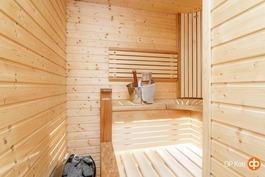 Oma sauna tuo arkeen iloa