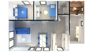 67 m2 (3D-kuva)