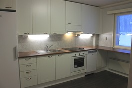 Vasta remontoitu keittiö