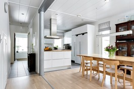 avara ruokailutila/keittiö