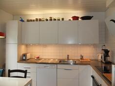 Keittiö on uusittu täysin v. 2009