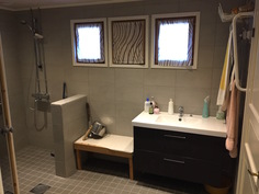 Saunan kylpyhuone 1