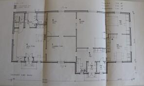 Pohjakuva 1985, kun tehty wc, ph ja sauna sisälle