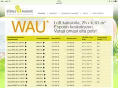 Tee WAU:n varaus sivuiltamme www.eakodit.fi