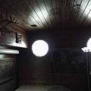 1.kerroksen saunatupa/oleskelutila  (rakennettu -90 luvun alussa)