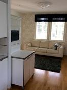 Arkiolohuoneessa voi nauttia takkatulen lämmöstä tai valmistaa ruokaa leivinuunissa.