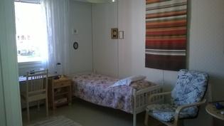 Rauhallinen makuuhuone