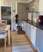 Keittiö uusittu 2016, kaapit, integroitu liesi, uuni ja mikroaaltouuni