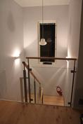 Laadukkaat portaat, lasia, koivua ja terästä