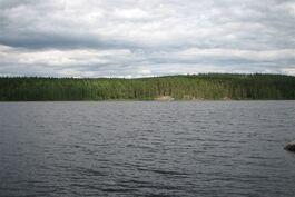 Pääjärven rannalla on myytävänä kaksi tonttia.
