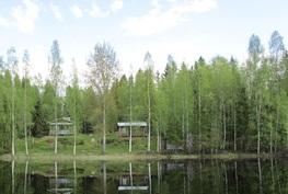 Maisemaa järveltä kiinteistölle