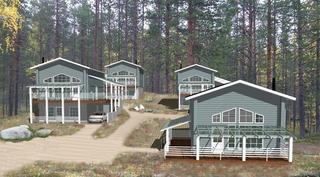 Levihovi 5:n kaikki 4 taloa, havainnekuva.