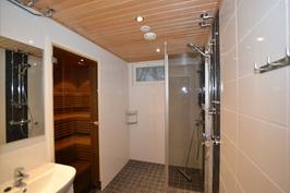 Pesuhuone saunan yhteydessä (C Markku Mäntylä)