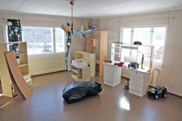 Yläkerran huonetilaa