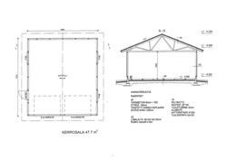 autotallin pohja ja rakennustapa
