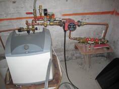 Vesikiertoinen lattialämmitys toimii nyt sähköllä