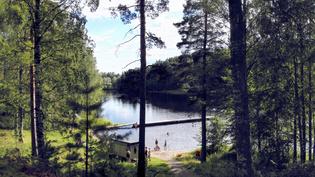 Uimaranta 150 m päässä
