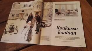 Meidän talo 11/2013 lehdessä