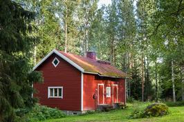 Sauna, työtila ja lämmityskeskus
