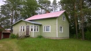 Väliviirteentie 420, talo Kuusimäen päällä