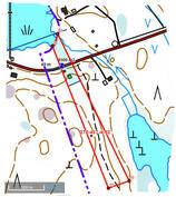 maastokartta 2,1 ha metsätilasta