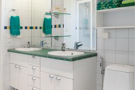 1krs - kylpyhuone suihkunurkkauksella