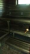 Talon sauna sähkökiukaalla