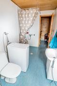 Kylpyhuone, wc, sauna