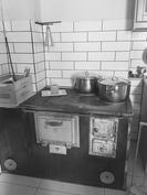 Kunnon keittiöön kuuluu puuhella