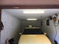Normaalia pidempi autotalli