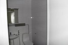 Uusittu kylpyhyone, led valaistus, temal kaappi